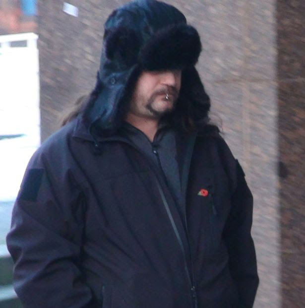 Factory worker Alan Barnfield arriving at Sheffield Crown Court where he was jailed for four years of outraging public decency after he was cleared of having sex with a Shetland pony