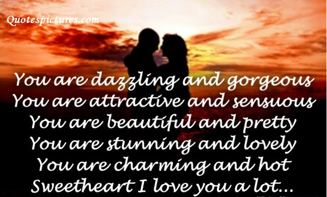 Extremely Sweet Cute Love Quotes For Her You Are Charming And Hot
