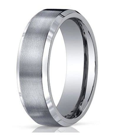 7mm Men's Benchmark Titanium Wedding Band with Satin