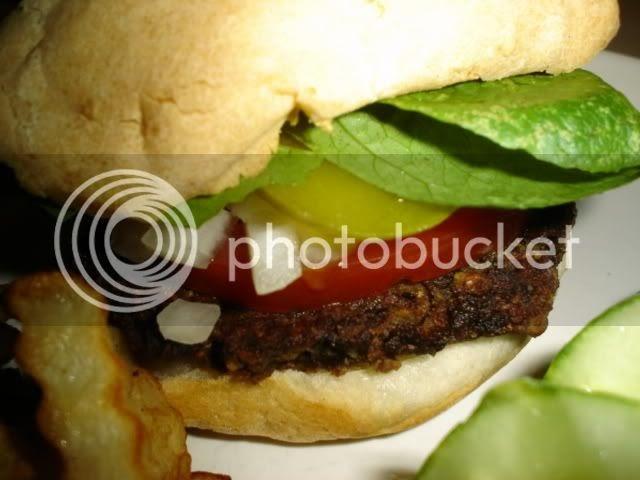 the accidental vegetarian big mouth veggie burgers