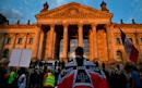 Germany's president condemns far-right Reichstag demonstration as an 'attack on democracy'