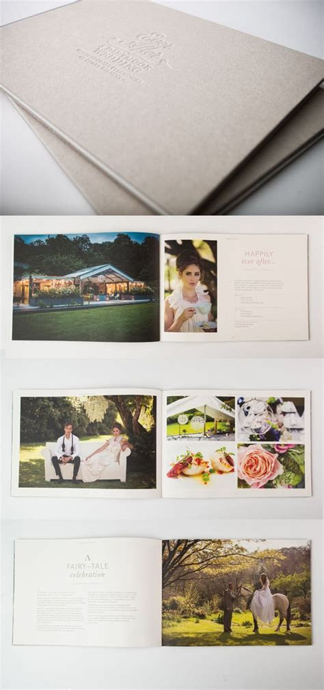 Brochure for Ever After Wedding Venue by the