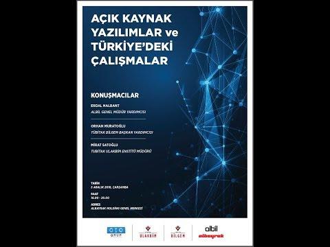 TÜBİTAK - CIO TÜRKİYE/CIO GRUP AÇIK KAYNAK KOD TOPLANTISI (ALBAYRAK HOLDİNG)