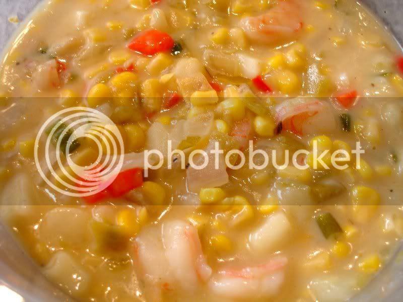 Shrimp & Corn Chowder