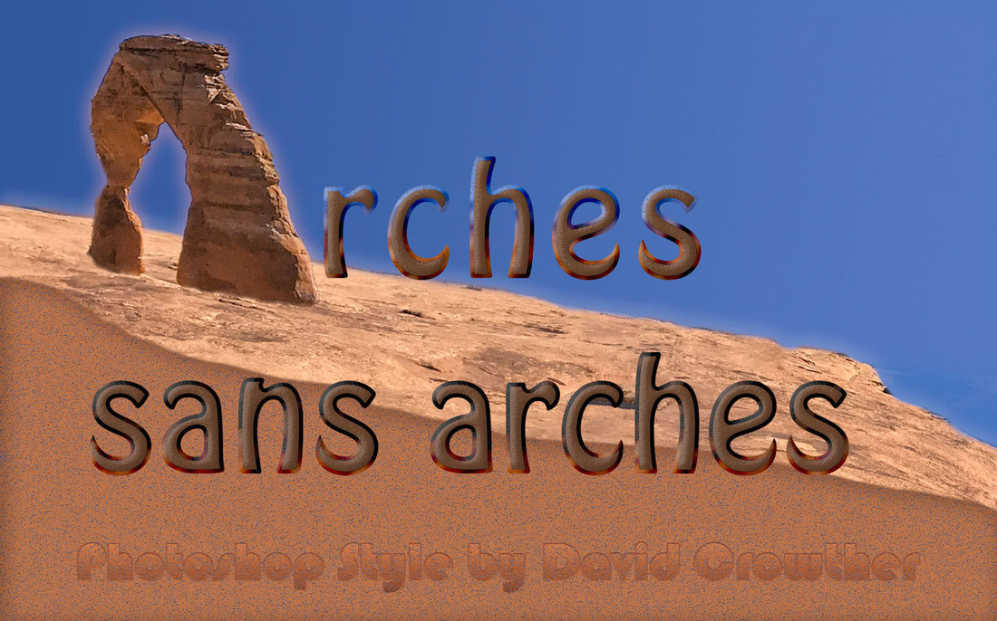 10 Arches Sans Arches Photoshop Style David R Crowther