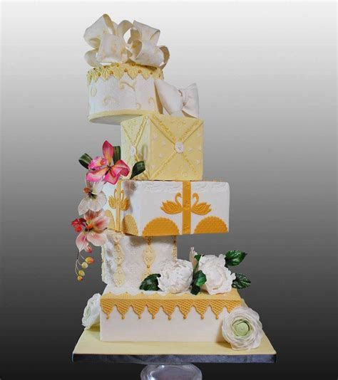Cascading Wedding Cake Stands Unique by Cake Stackers?