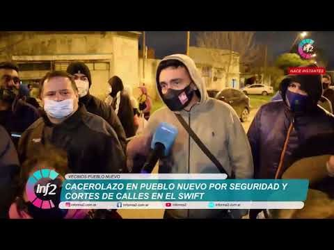Cacerolazo en Pueblo Nuevo para exigir Seguridad