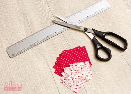 Corte o tecido