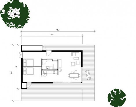 Prefabricated House Layout
