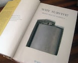 hollow book flask safe ''WHY SURVIVE''
