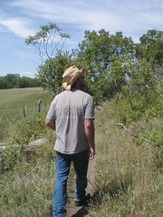 Would you follow a man with a straw hat into the wilds of Kansas?