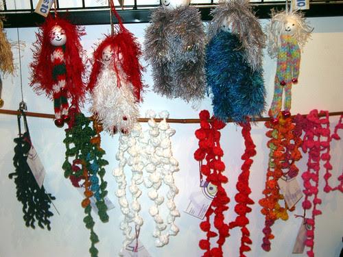 Dangling Knit Dolll by Suzie Erickson