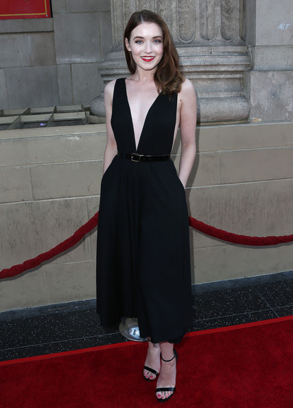 Actress Sarah Bolger attends the Screening of ABC's 'Once Upon A Time' Season 4 at the El Capitan Theatre on September 21, 2014 in Hollywood, California.