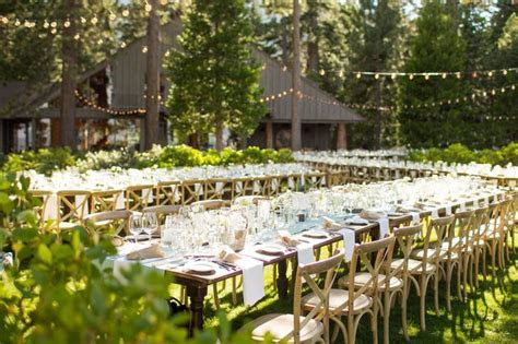 A Outdoor Beach Wedding in Lake Tahoe, CA
