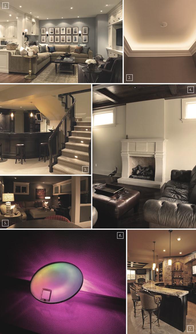 Basement Lighting Design Builders
