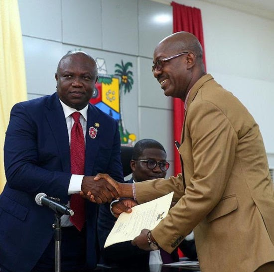 Adekunle Gold's Dad Becomes Lagos State's Permanent Secretary