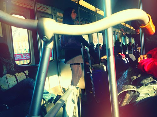 Bike on the T: Red Line, 3pm