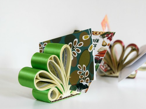 Phone Book Letter Holder DIY