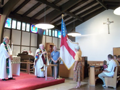 Blessing of Episcopal flag