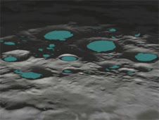 New research from NASA's Lunar Science Institute indicates that the  solar wind may be charging certain regions at the lunar poles to  hundreds of volts