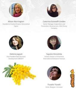 Una giuria tutta al femminile per Cartoons on the Bay 2017 Torino