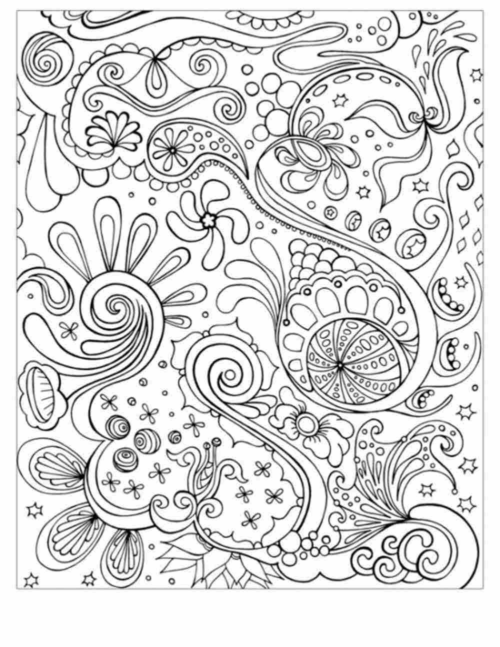 Free Printable Mandala Coloring Pages For Adults Only Coloring And Drawing