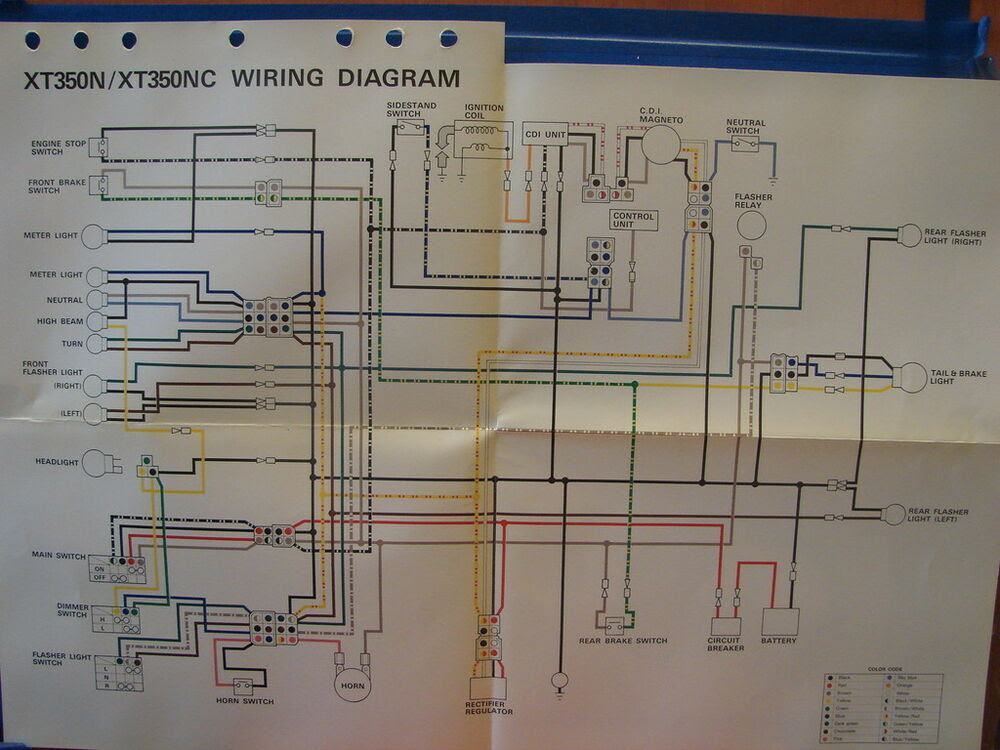 Diagram 1989 Yamaha Xt 350 Wire Diagram Full Version Hd Quality Wire Diagram Wiringgame Pizzagege Fr