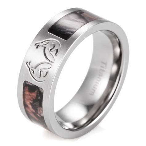 Beautiful Cheap Camo Wedding Rings for Men   Matvuk.Com