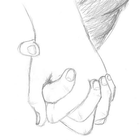 holding hands drawing easy  getdrawingscom
