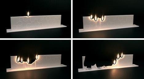 Best of interior design and architecture creative candles for Creative design interior of nevada
