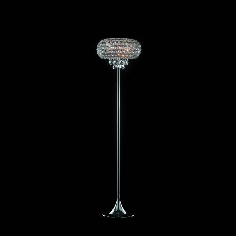 Traditional floor lamp (crystal) - STAR - Illuminati Lighting srl