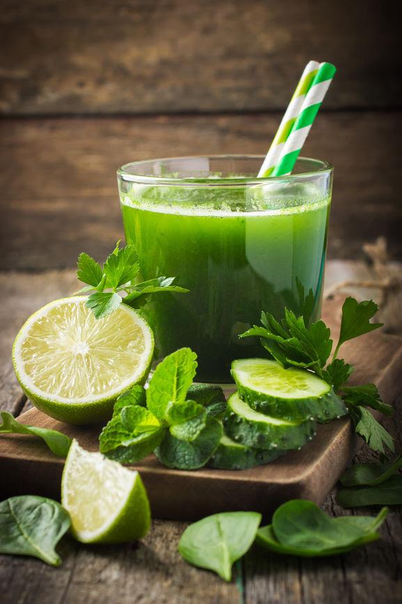 Suc verde pentru slabit
