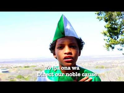 [VIDEO]:Olayimika Babalola – Nigerian Anthem [Yourba Version]