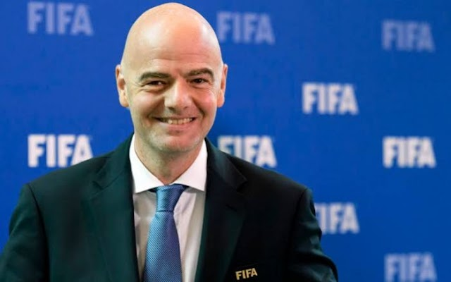 Gianni Infantino Re-elected As #FIFA President