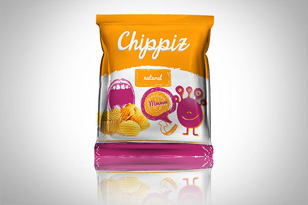 Chippiz Chips Packaging Design 30+ Crispy Potato Chips Packaging Design Ideas