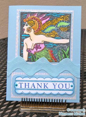 Mermaid Thanks by mkmermaid (Maureen)