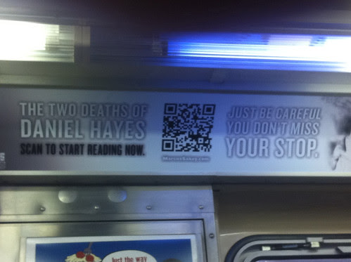 US Subway ad with QR Code by littlelazer121.