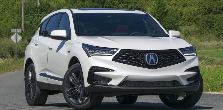 2019 Acura Rdx A Spec Black With Red Interior