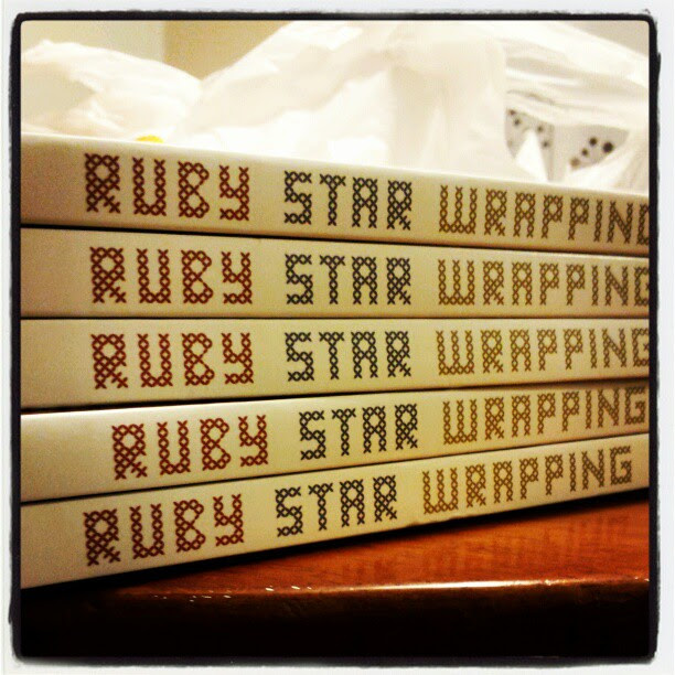 ruby star wrapping books
