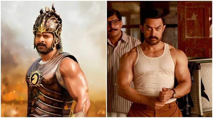 Image result for How Aamir Khan's Dangal defeated Baahubali 2 to become India's biggest box office hit ever
