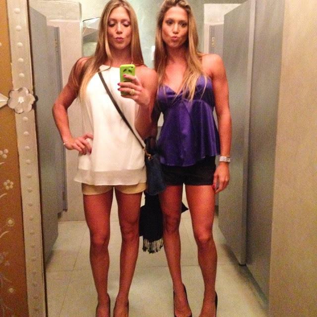 Gêmeas Bia e Branca Feres (Foto: Reprodução/Instagram)