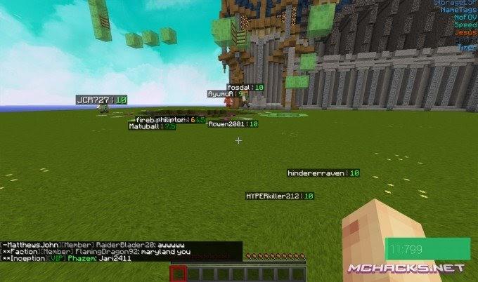 Minecraft Optifine Hacked Client 1.8 - Ceria kd