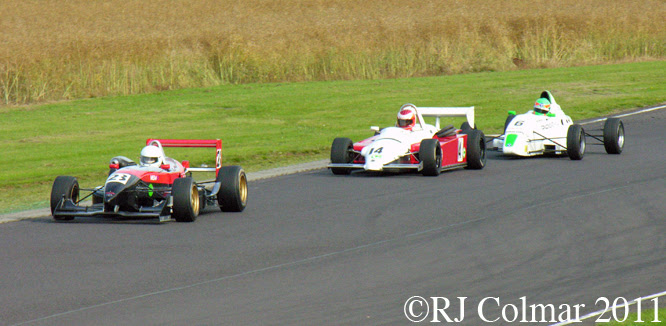 Ray Rowan, Dallara F398, Jim Blockley, Ralt RT3, Roger Orgee, Van Diemen RF00, Castle Combe, BECRW