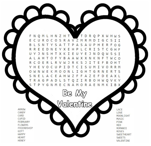 Word Search – Activities For Kids