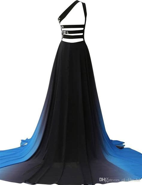 Cheap Couture Dresses 2019 One Shoulder Long Prom Dresses