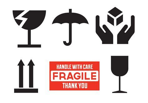 Fragile Free Vector Art   (6,453 Free Downloads)