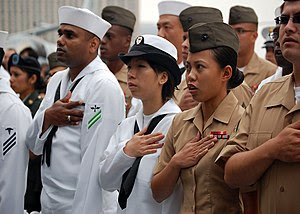 SAN DIEGO, Calif. (May 28, 2009) Sailors, Mari...