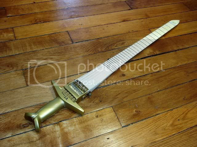 Vline Sword Guitar