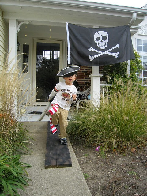 Pirate Birthday Party Walk The Plank - web