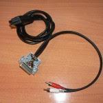 Cable euroconector para Amiga con audio - 2